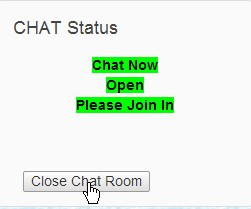 Close Chat Room Block